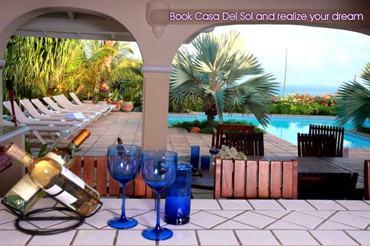 Full equiped villa rental in orient beach